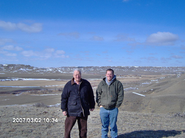 Owners of the Wilson Ranch....Don and James Hirst Wilson Ranch