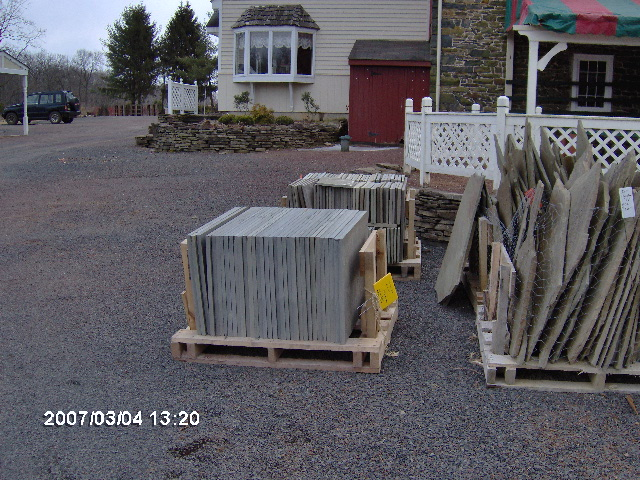 Items in our landscape rocks and boulders that we can also barter with...