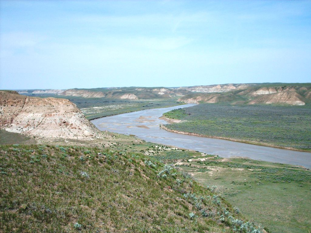 View on Milk River Ranch